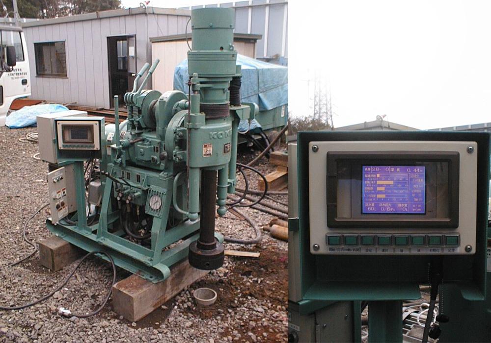 掘削データー計測システム